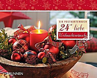 24 2 liebe weihnachtsw nsche buch portofrei bei. Black Bedroom Furniture Sets. Home Design Ideas