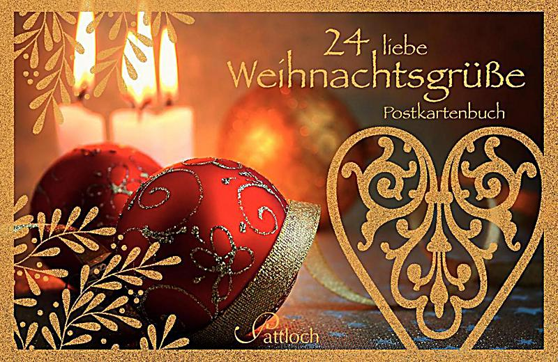 24 liebe weihnachtsgr sse postkartenbuch buch. Black Bedroom Furniture Sets. Home Design Ideas