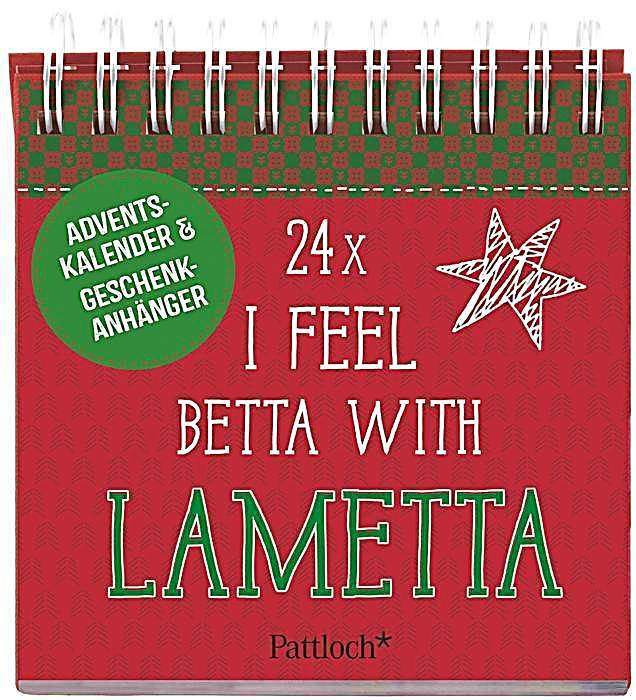 24 x i feel betta with lametta kalender bei kaufen. Black Bedroom Furniture Sets. Home Design Ideas