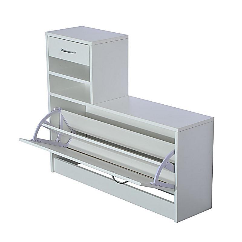 3 in 1 garderoben set mit schuhschrank wandpaneel und. Black Bedroom Furniture Sets. Home Design Ideas