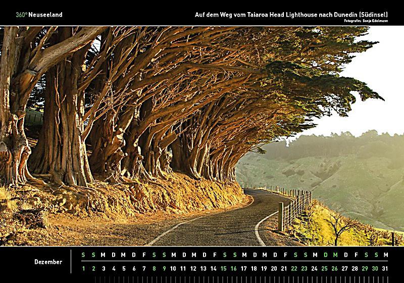 360 neuseeland kalender 2018 kalender bei. Black Bedroom Furniture Sets. Home Design Ideas
