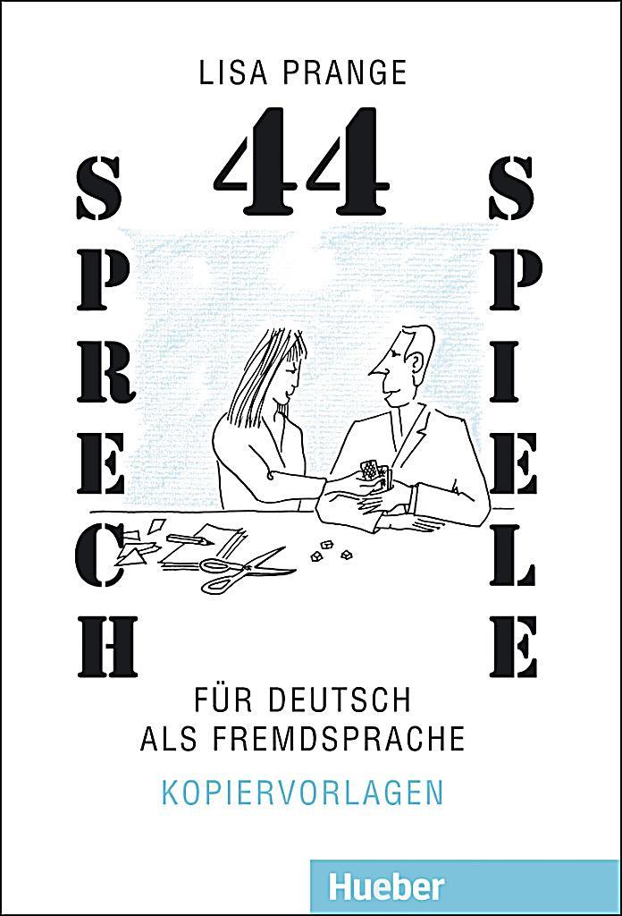 44 Sprechspiele für Deutsch als Fremdsprache Buch portofrei