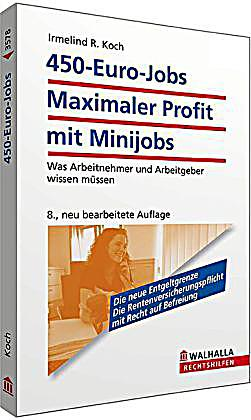 450 euro jobs maximaler profit mit minijobs buch. Black Bedroom Furniture Sets. Home Design Ideas