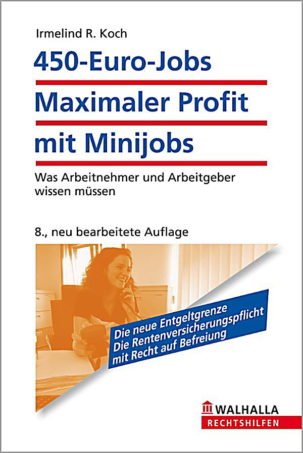450 euro jobs maximaler profit mit minijobs ebook. Black Bedroom Furniture Sets. Home Design Ideas