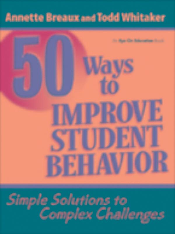 Discipline and improve students behaviour in