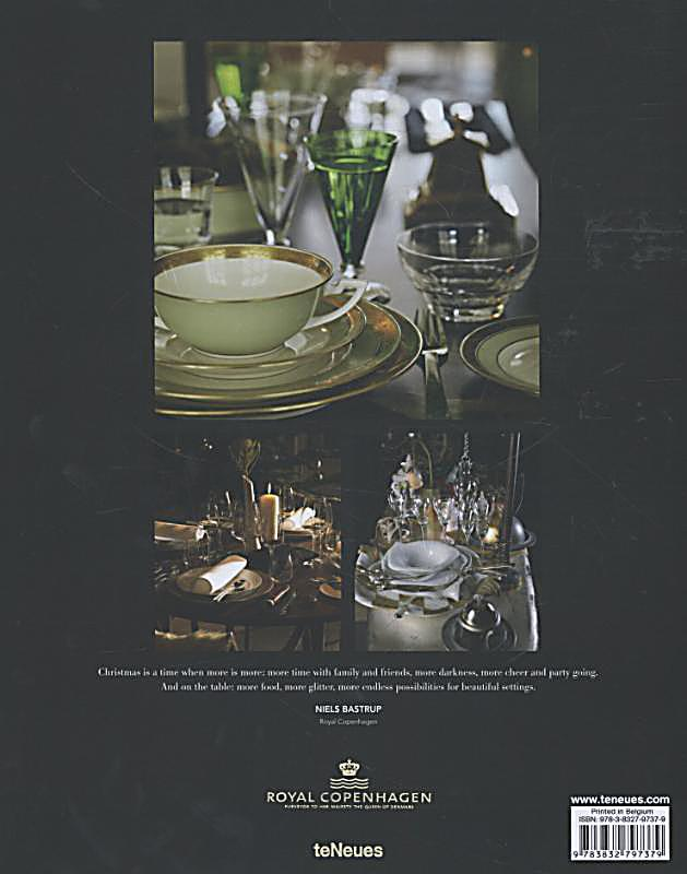 Years of christmas tables by royal copenhagen buch