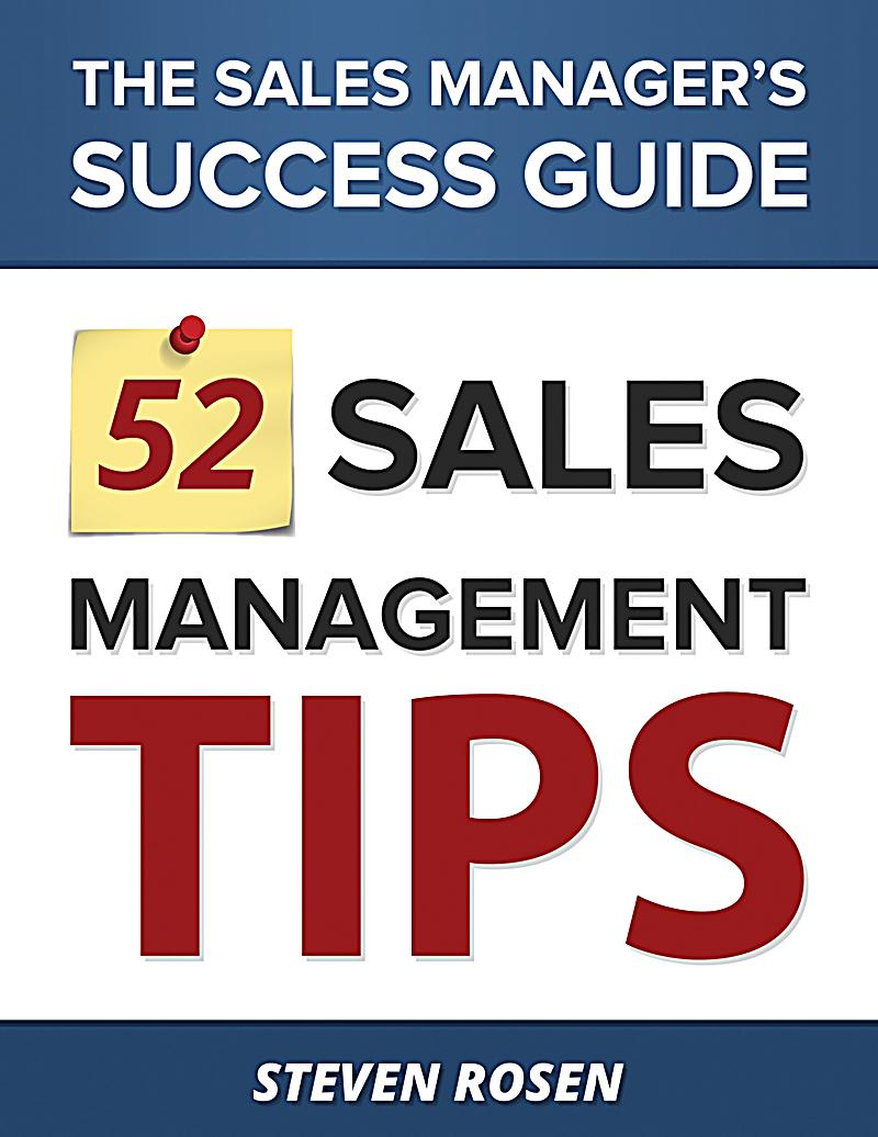 52 sales management tips pdf