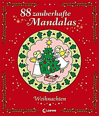 88 zauberhafte mandalas weihnachten buch. Black Bedroom Furniture Sets. Home Design Ideas