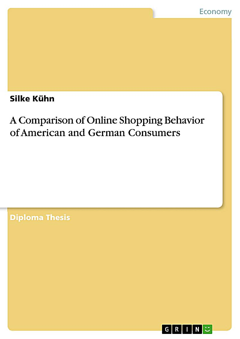 a comparison of online shopping behavior of american and german consumers ebook. Black Bedroom Furniture Sets. Home Design Ideas
