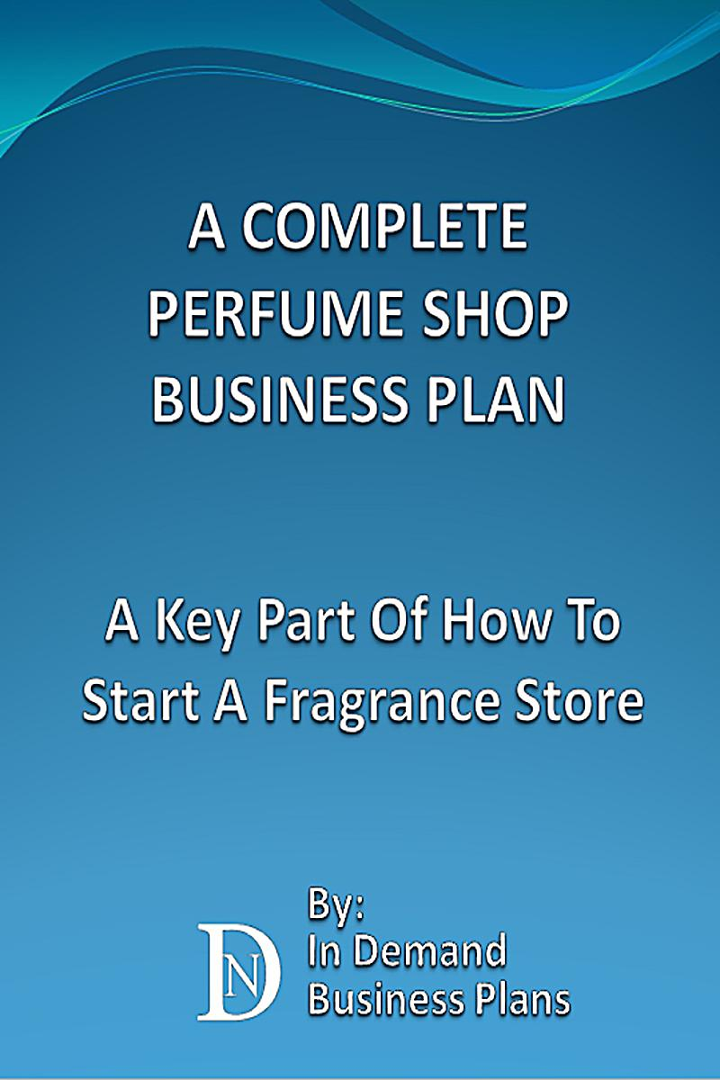 perfume company business plan
