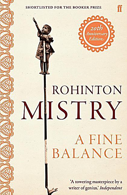 rohinton mistry a fine balance Find great deals on ebay for a fine balance rohinton mistry shop with confidence.