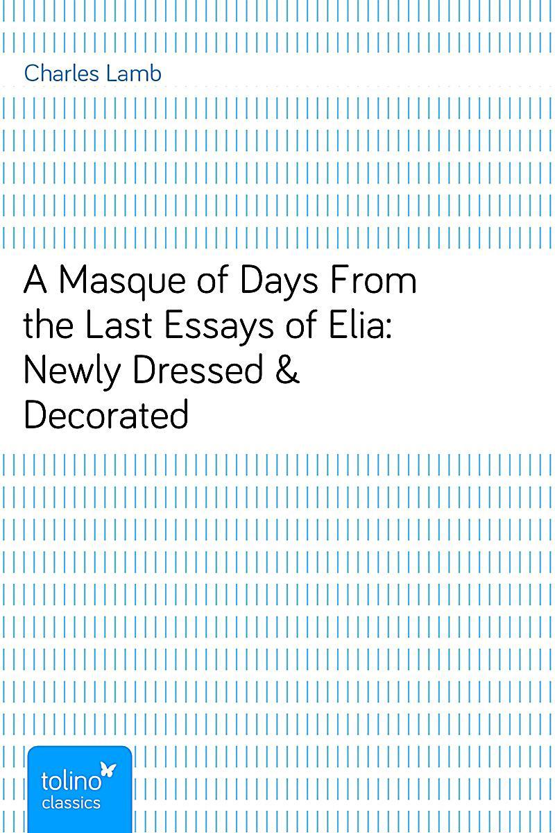 last essay of elia