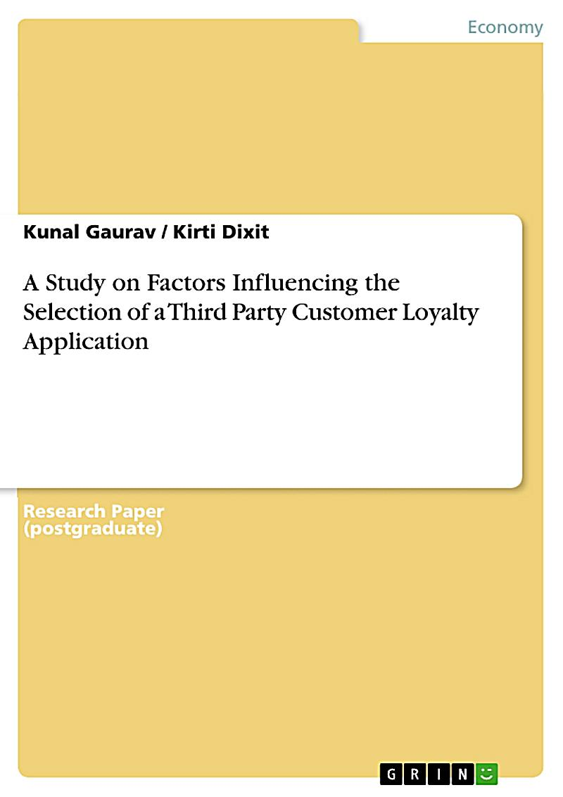 factors influencing customer loyalty The study aims to identify the factors influencing brand loyalty in nepalese market  factors that are influencing the brand loyalty for the  customer loyalty .