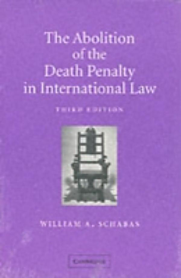 the study on abolishment of death Atarah-sheba young1 academic portfolio dr kimberly smith persuasive argumentative: abolishment of the death penalty.