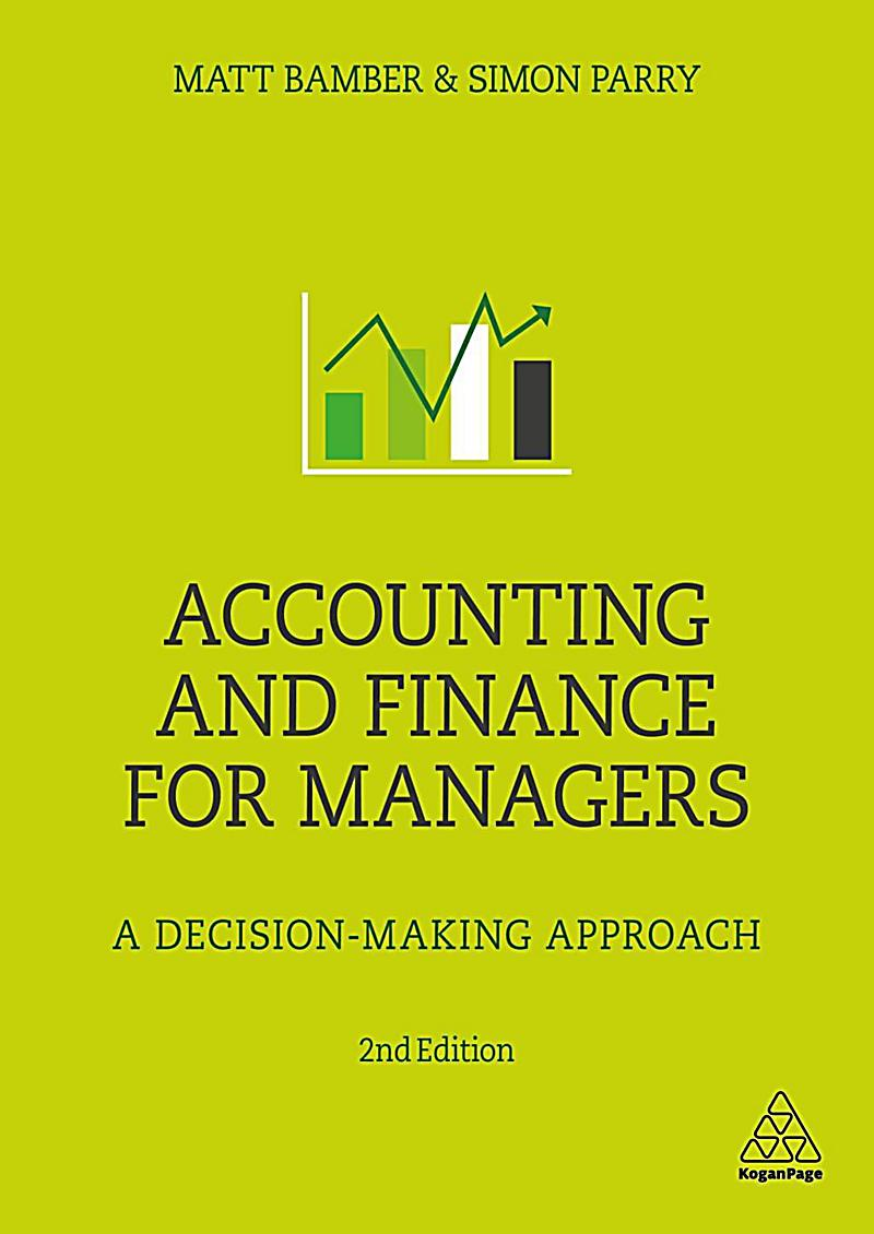 accounting for managers Book pages 2 - financial management and accounting for the construction  industry — roles and responsibilities of the financial manager.