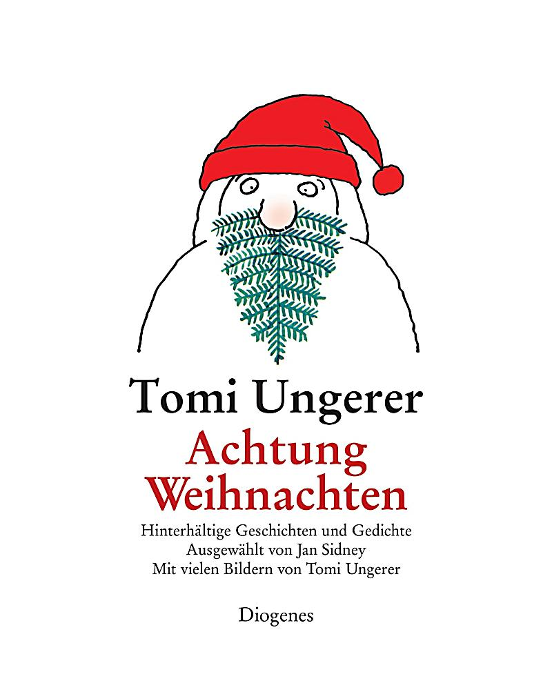 achtung weihnachten buch von tomi ungerer portofrei. Black Bedroom Furniture Sets. Home Design Ideas