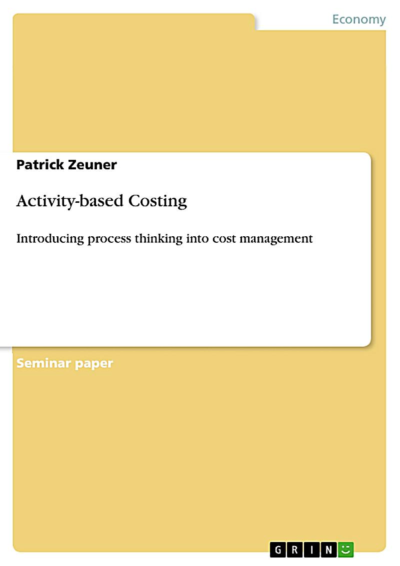 activity based costing pdf books