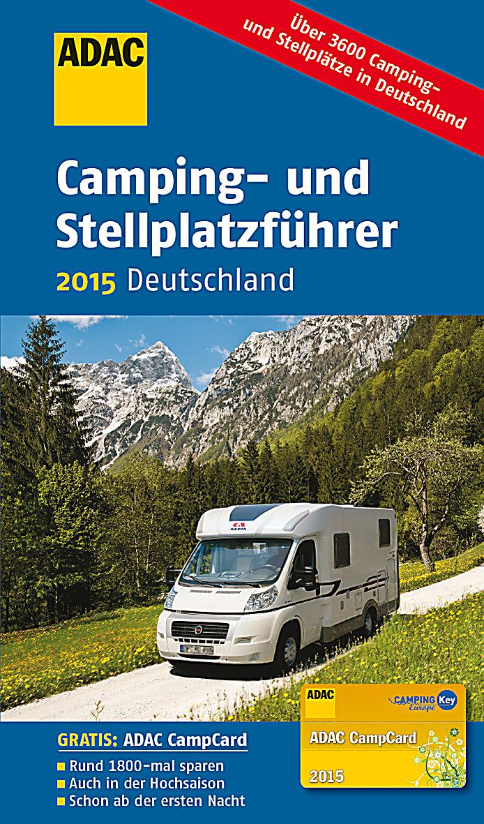 adac camping und stellplatzf hrer deutschland 2015. Black Bedroom Furniture Sets. Home Design Ideas