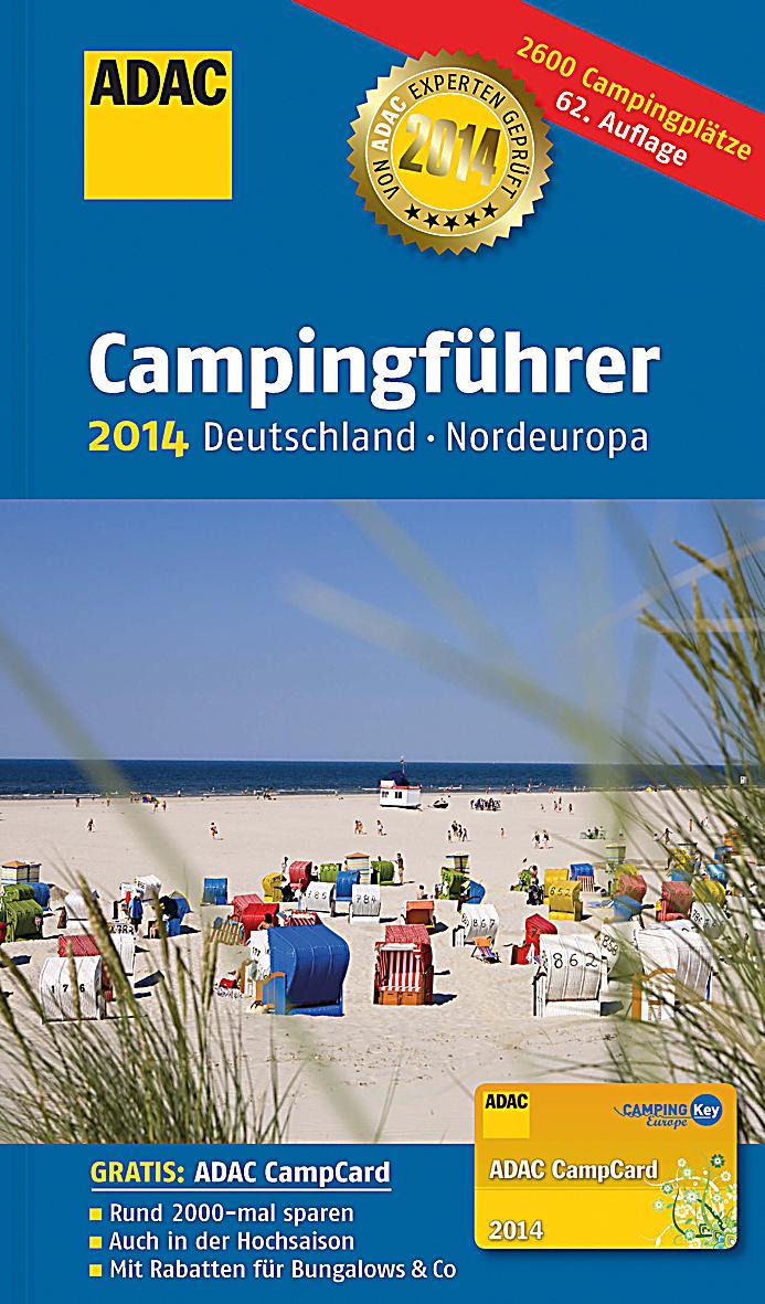 adac campingf hrer 2014 deutschland nordeuropa buch versandkostenfrei. Black Bedroom Furniture Sets. Home Design Ideas