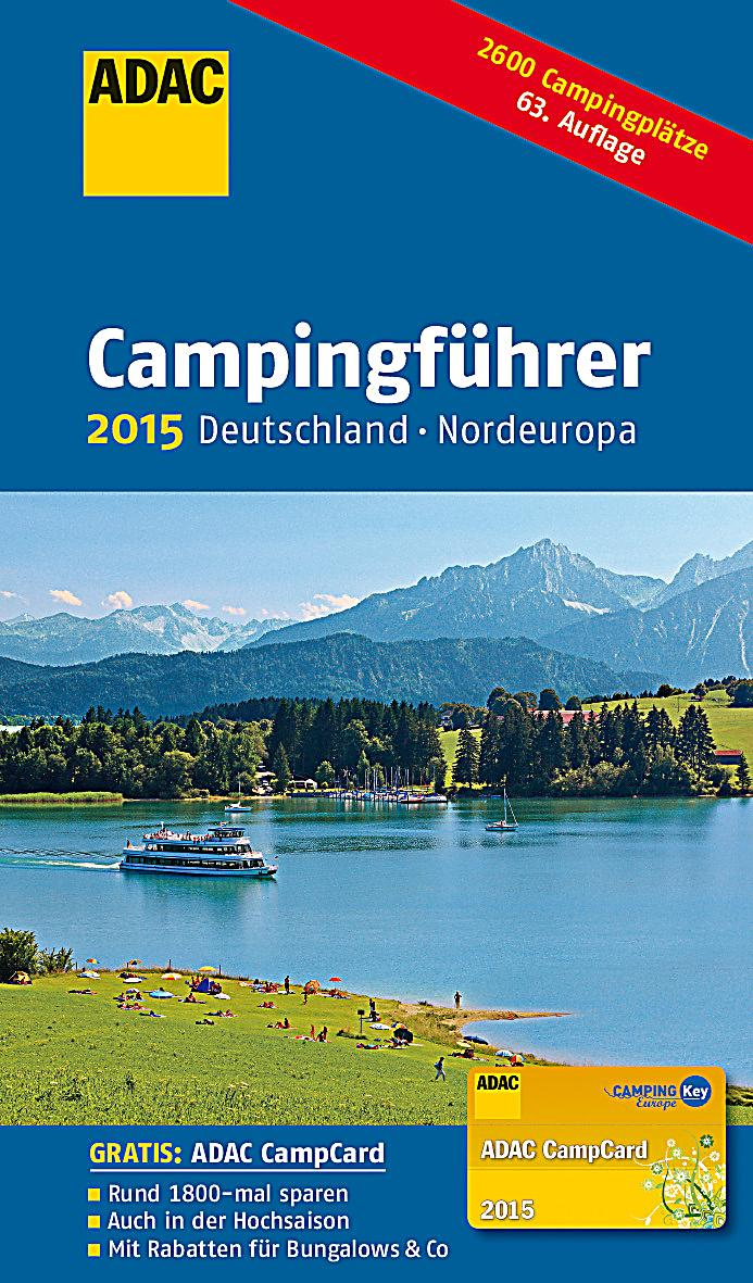 adac campingf hrer 2015 deutschland nordeuropa buch. Black Bedroom Furniture Sets. Home Design Ideas