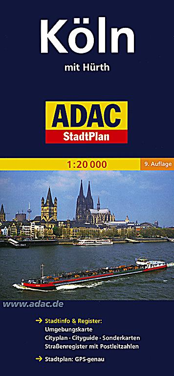 adac stadtplan k ln mit h rth buch portofrei bei. Black Bedroom Furniture Sets. Home Design Ideas