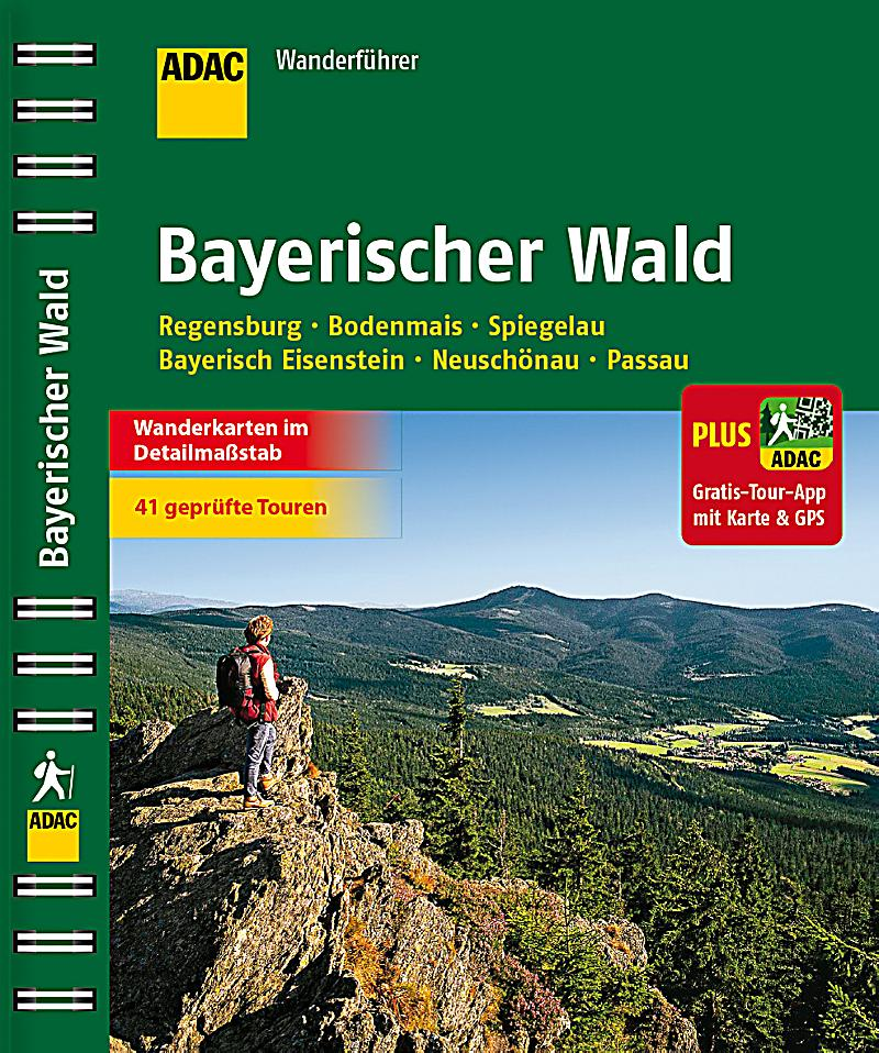 adac wanderf hrer bayerischer wald plus gratis tour app. Black Bedroom Furniture Sets. Home Design Ideas