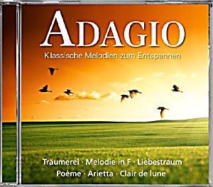 adagio klassische melodien zum entspannen cd bei. Black Bedroom Furniture Sets. Home Design Ideas