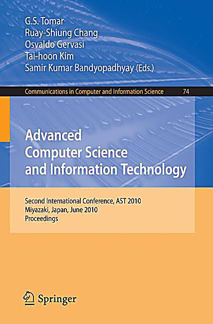 information technology and advanced computing Difference between a computer science & information technology degree using algorithms and advanced mathematics, computer scientists invent new ways to.