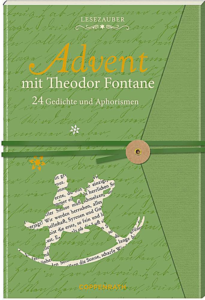 advent mit theodor fontane buch bei online. Black Bedroom Furniture Sets. Home Design Ideas