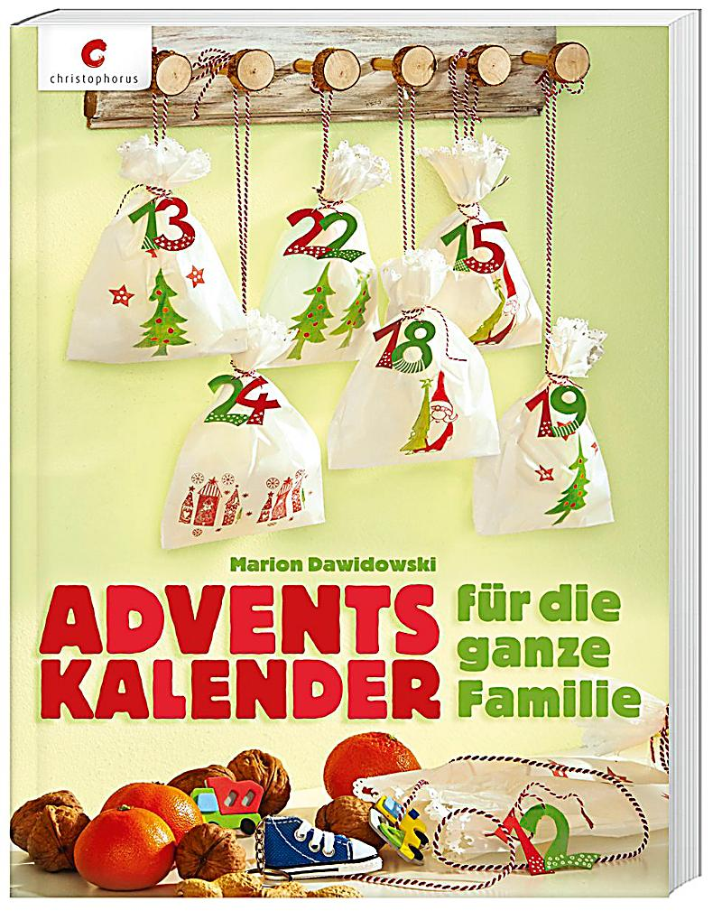 adventskalender f r die ganze familie buch. Black Bedroom Furniture Sets. Home Design Ideas