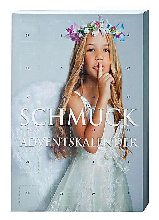 SIX Schmuck Adventskalender Dieser Kalender eignet sich vor allem für Teenager, die ihr Schmuckkästchen mit hübschen, zu allem passenden Modeschmuck erweitern wollen. Mit 16 Paar Ohrringen, 4 Armbändern und 4 Ketten liefert SIX eine gute Auswahl.