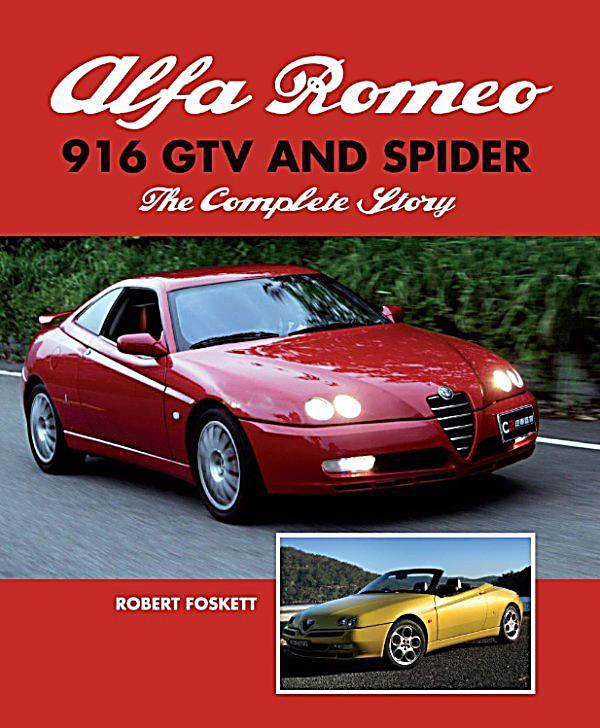 Alfa Romeo 916 GTV And Spider: Ebook Jetzt Bei Weltbild.de