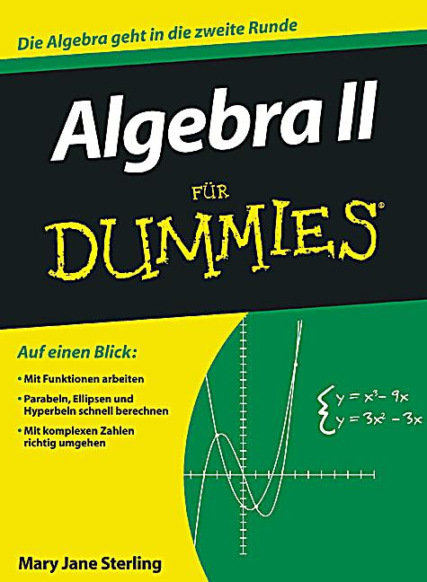 algebra ii f r dummies buch portofrei bei. Black Bedroom Furniture Sets. Home Design Ideas