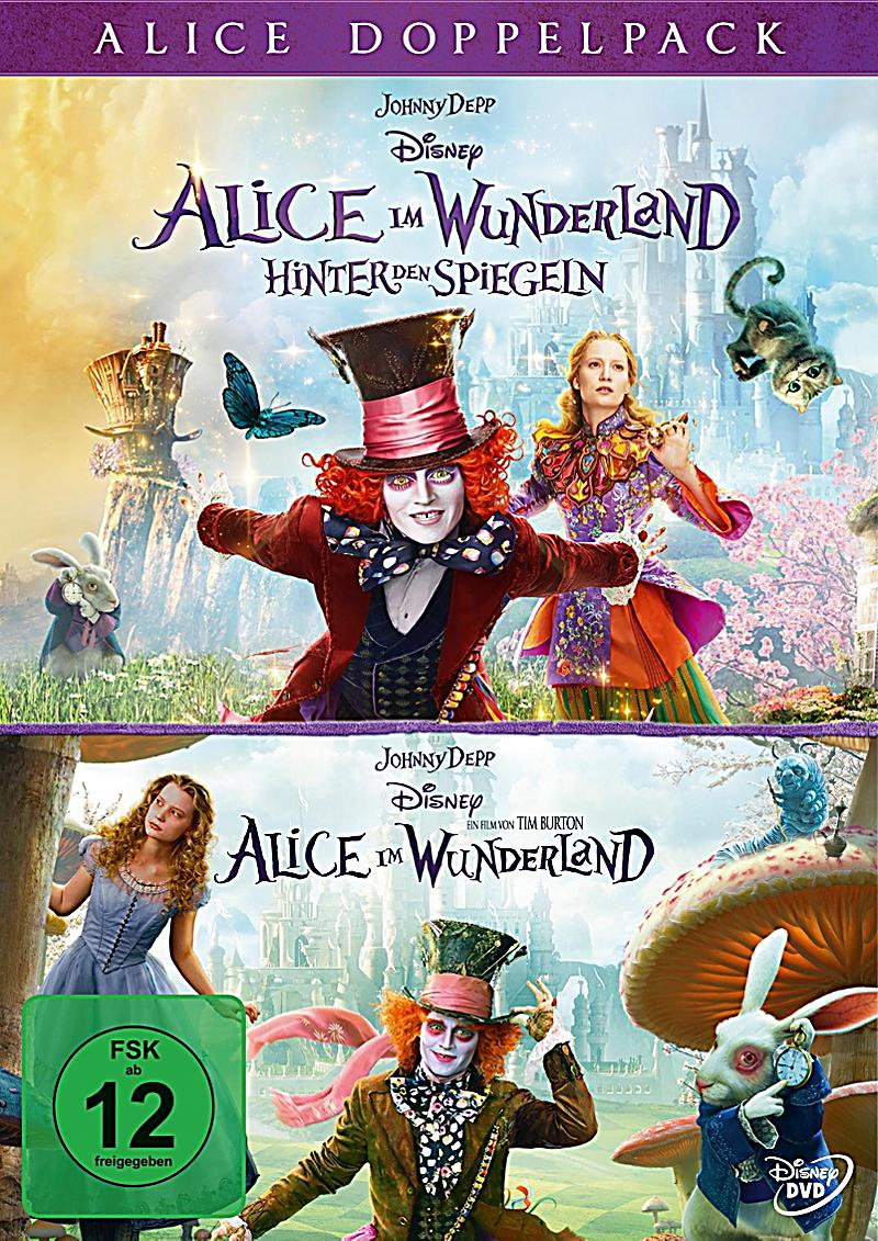 Alice Through The Loking Glass Dvd
