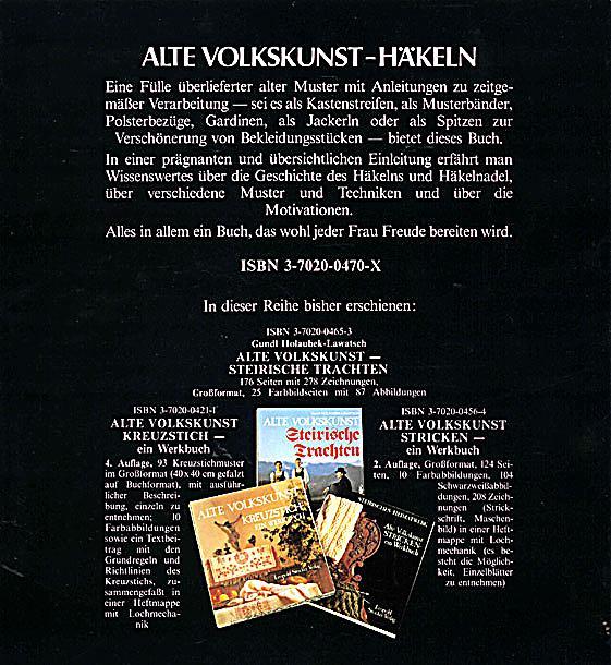 Alte Volkskunst Häkeln Buch portofrei bei Weltbild.at bestellen