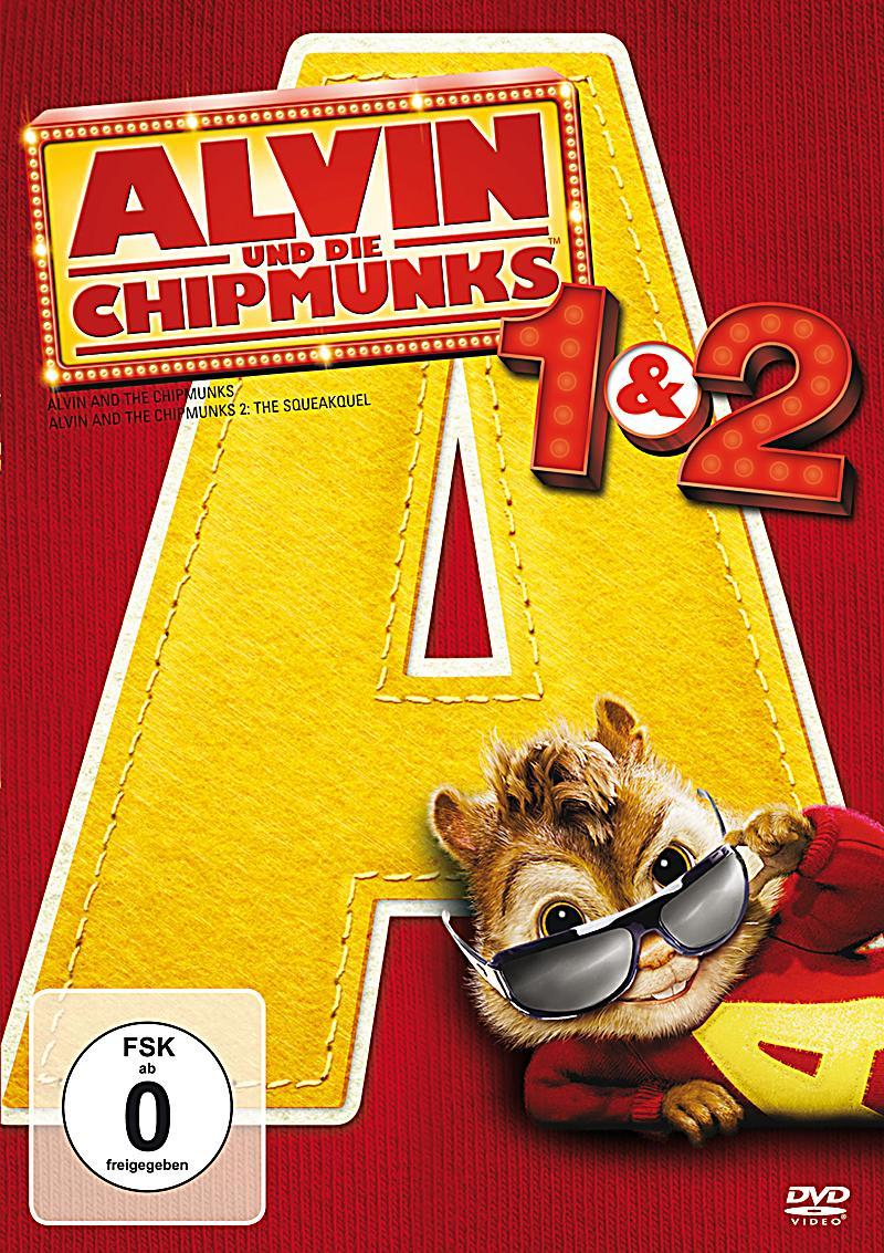 alvin und die chipmunks 1 2 dvd bei bestellen. Black Bedroom Furniture Sets. Home Design Ideas
