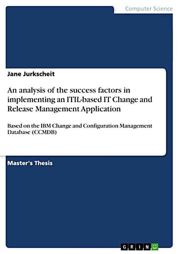 an analysis of the topic of the change of the management Change management thesis topics: a change management process and importance of bringing a change in organizations change management process and importance of bringing a change in organizations b.