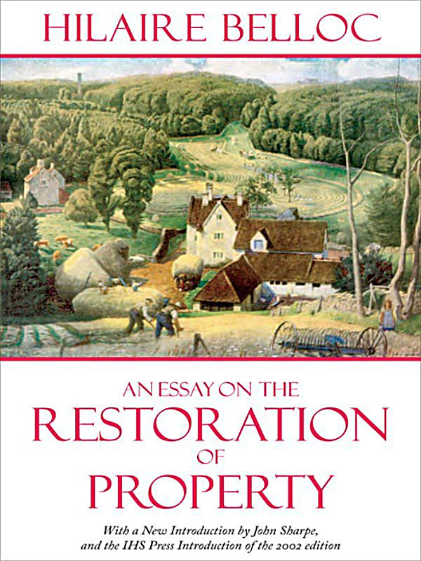 An essay on the restoration of property