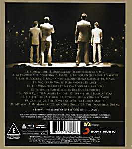 An evening with il divo live in barcelona blu ray - An evening with il divo ...