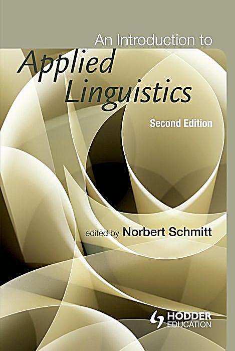 an introduction to applied linguistics by norbert schmitt pdf