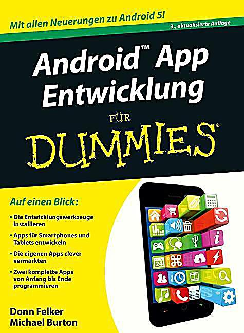 Android app entwicklung f r dummies buch portofrei - Android app ideen ...