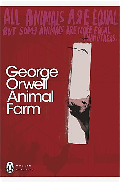 satire in george orwells animal farm Two views on orwell's animal farm terrifyingly on target than george orwell his fable animal farm is a veritable prophecy of a read as a satire of.