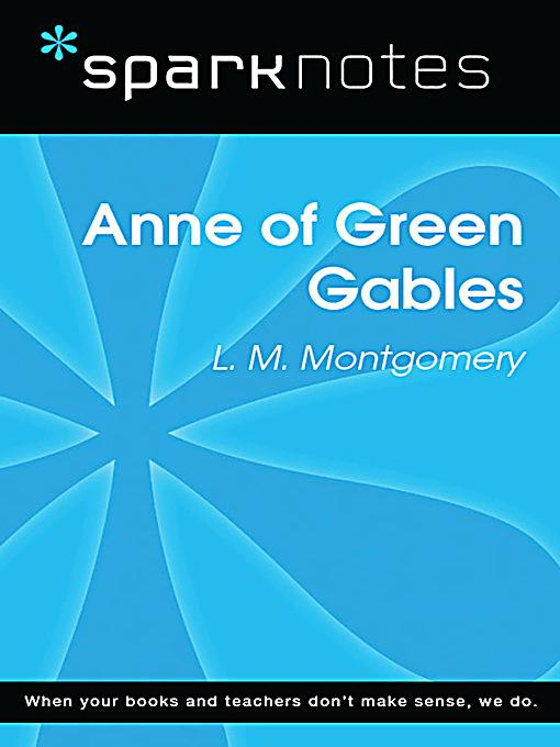 an analysis of the copy of anne of green gables Anne of green gables plot summary, character breakdowns, context and  analysis, and performance video clips.
