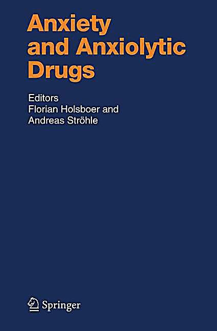 Anxiety And Anxiolytic Drugs Pdf