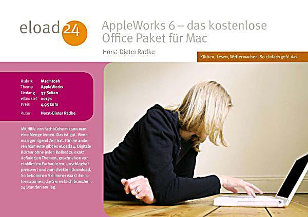 appleworks 06 das kostenlose office paket f r mac ebook. Black Bedroom Furniture Sets. Home Design Ideas