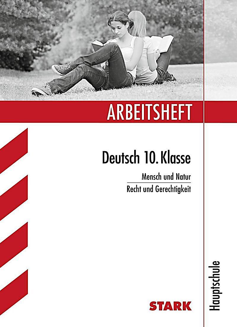 arbeitsheft deutsch 10 klasse hauptschule mensch und
