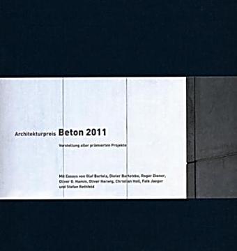 architekturpreis beton 2011 buch portofrei bei. Black Bedroom Furniture Sets. Home Design Ideas