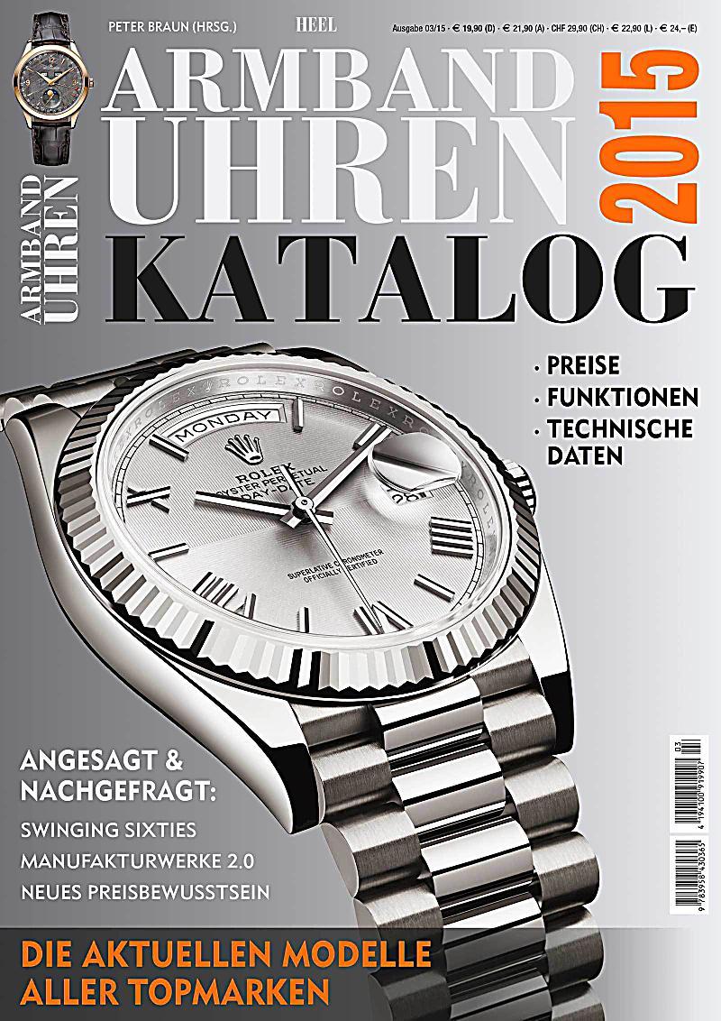 Armbanduhren Katalog 2015 Buch Portofrei Bei