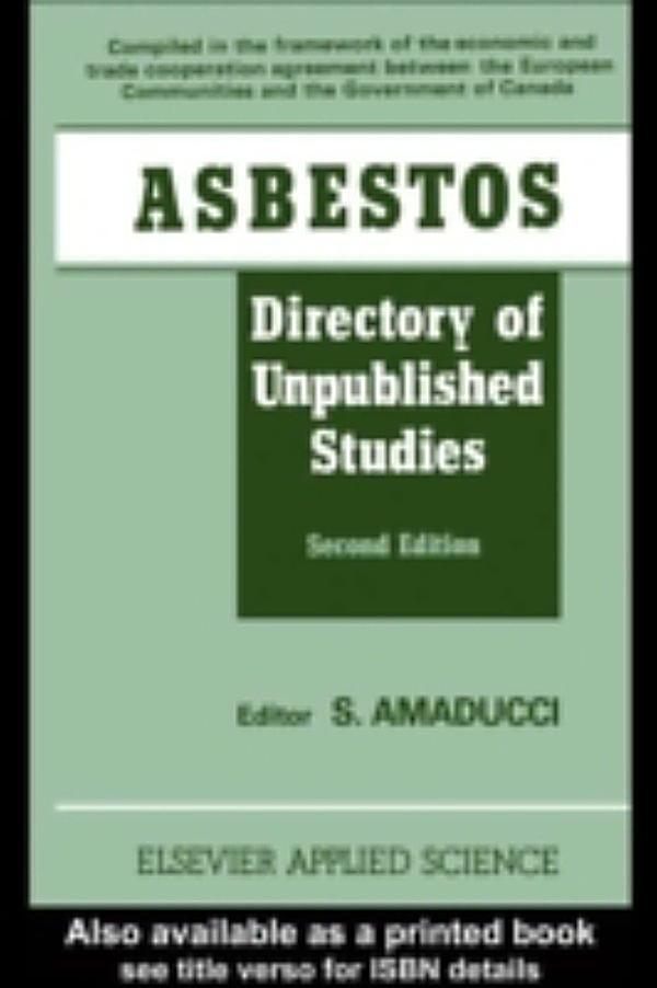 Asbestos: ebook jetzt bei weltbild.de als Download