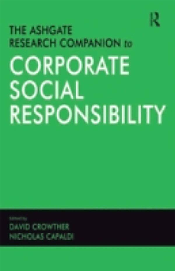 social responsibility research Research institutions  the international corporate citizenship research network is the first international research network in corporate citizenship, formed by leading researchers from australian, british and american university based research centres.